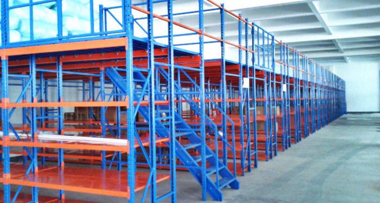 Rack-Supported-Mezzanine-Floors